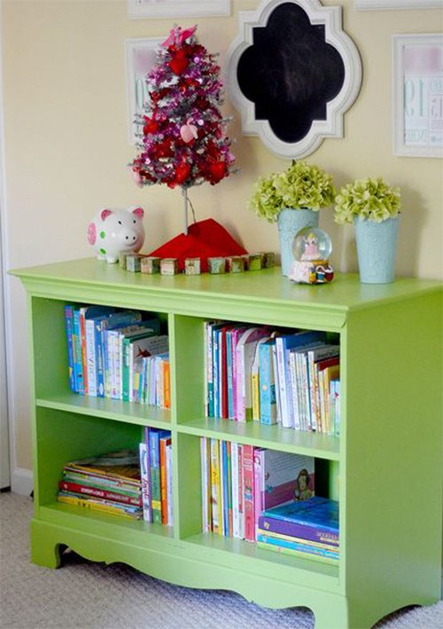 bookcase kid's room