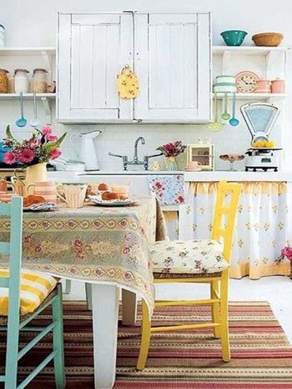 bright coloured kitchen accessories useful tips for decorating the kitchen 4908