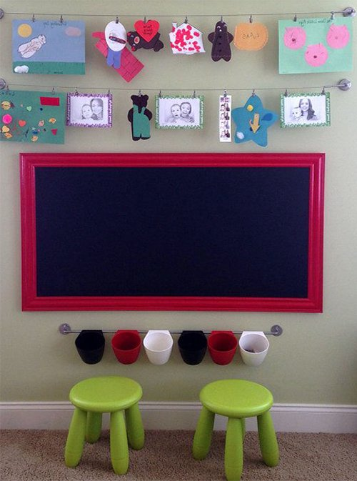 chalkboard for kid's room