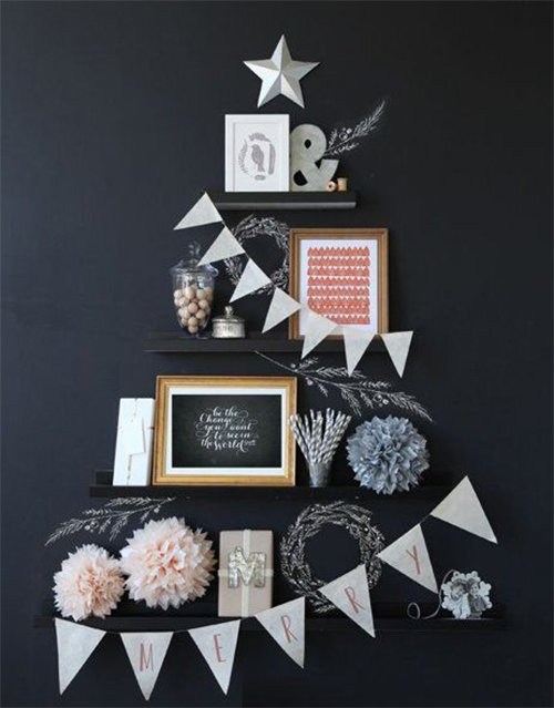 chic creative xmas tree