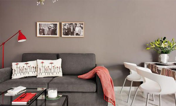 chic small living room cute