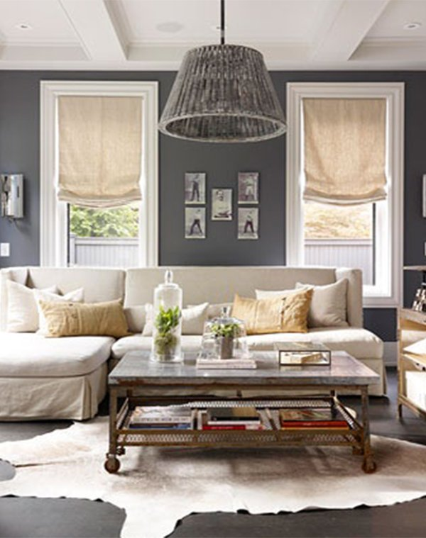 curtain ideas for small living room design