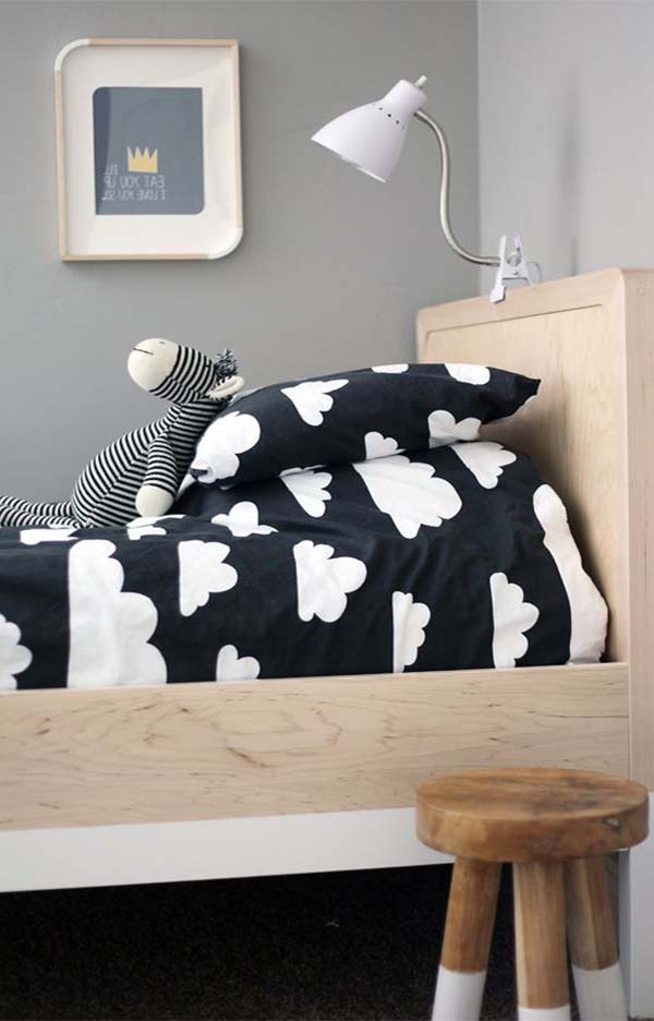cute bedspread idea for kid