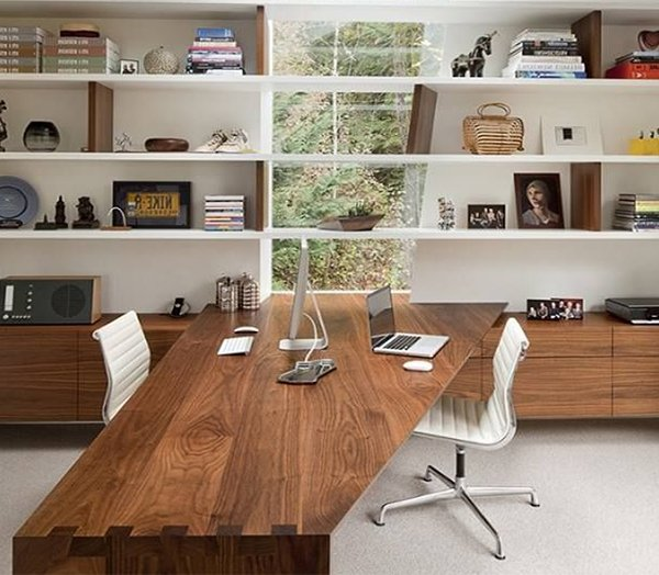 5 design ideas for a modern office for Creating a home office