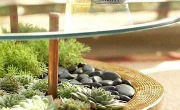 glass coffee table design