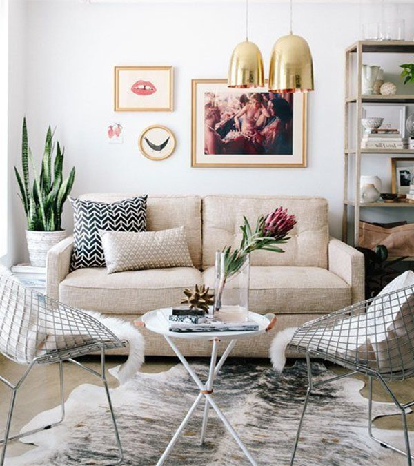 53 Inspirational Living Room Decor Ideas: Small Living Room Decorating Ideas