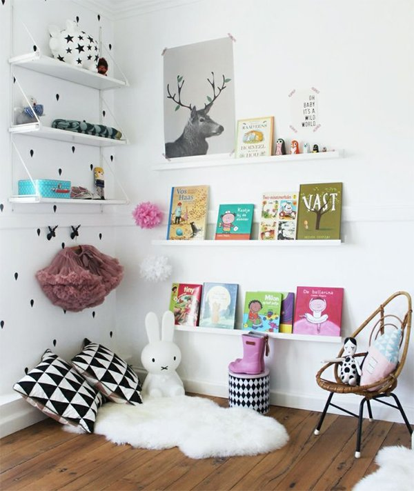 kid's bedroom bookcase