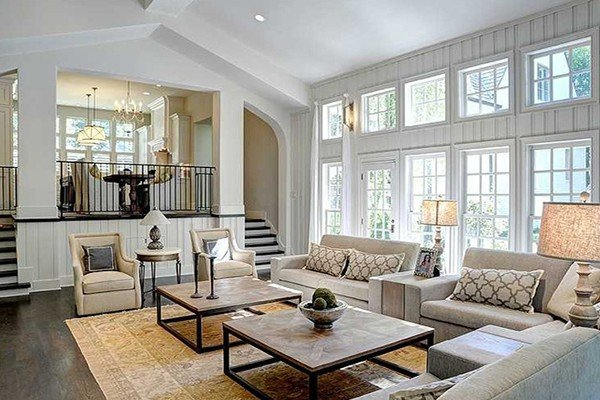 5 ways to cozy up a large living room for Big living room ideas