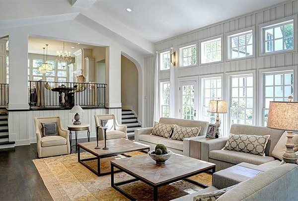 5 ways to cozy up a large living room - Appealing ideas for living room decor ...