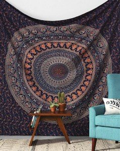 living room tapestries