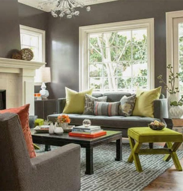 Beautiful Colorful Living Rooms: Modern Living Room Design Ideas