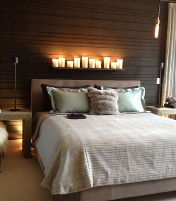Bedroom decorating ideas for couples for Modern romantic interior design