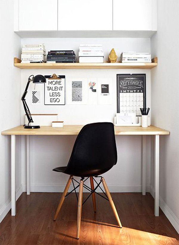 Create a workstation anywhere in your small home office - Creating a small home office ...