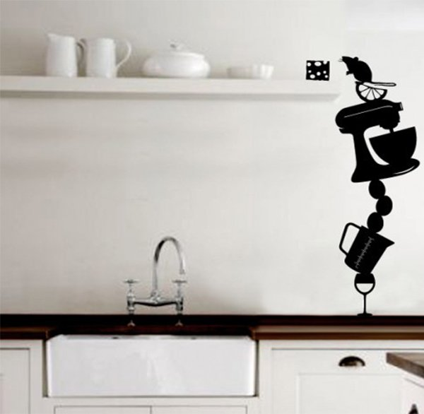 stickers for kitchen wall design
