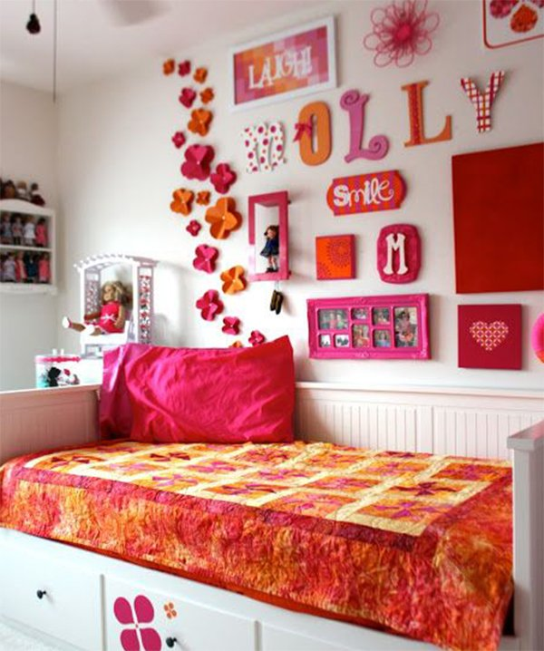 stylish kid's room decor