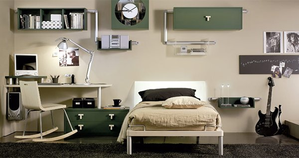 teenage boy's bedroom decoration ideas