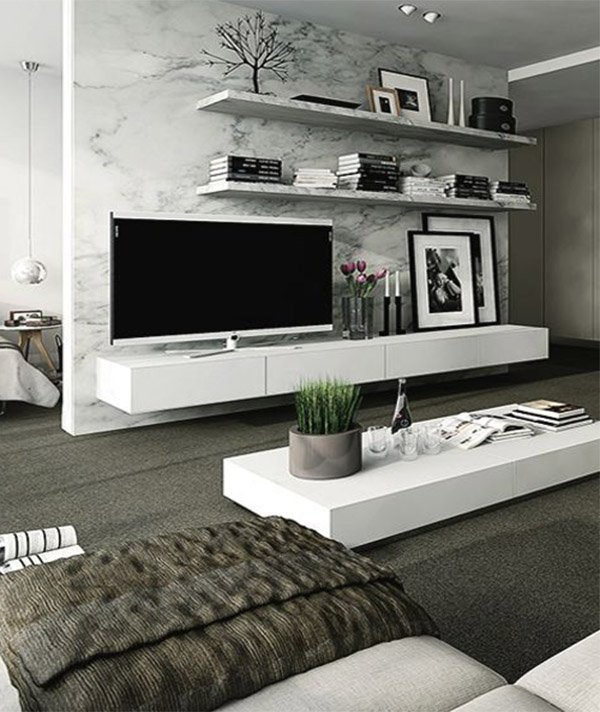 Modern living room decoration ideas for Ultra modern living room ideas