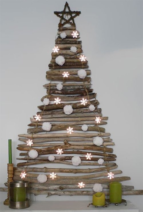 unusual creative christmas tree design
