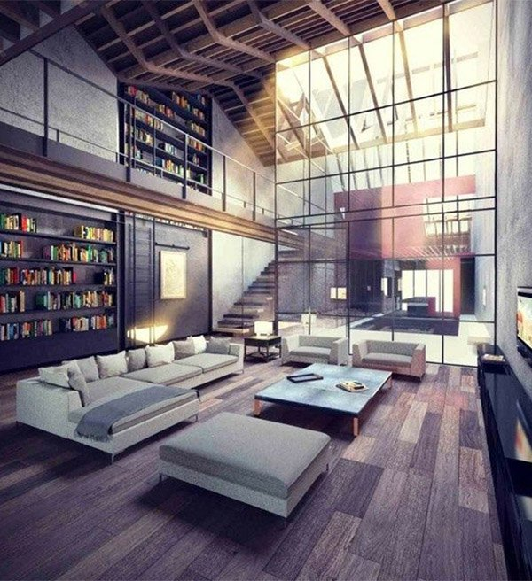 Large Living Room Design Ideas That Can Be Felt More Stylish: Modern Living Room Design Ideas