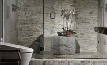 water panel bathroom design