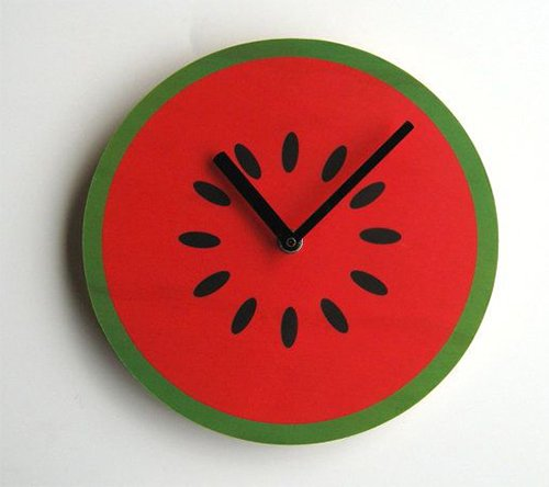 watermelon clock design