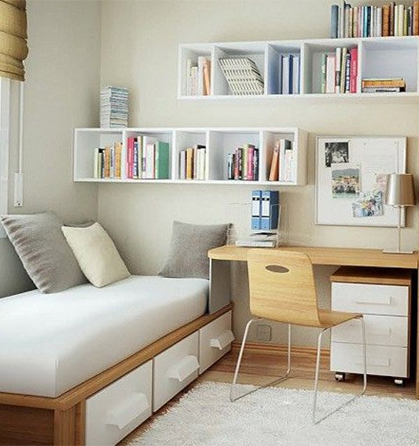 Work that miniature bedroom into a comfy spot for Well decorated bedroom