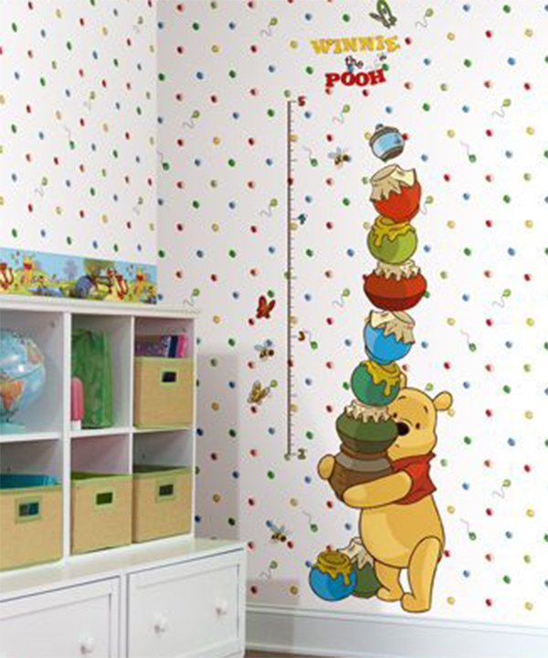 winnie the pooh wallpaper for nursery