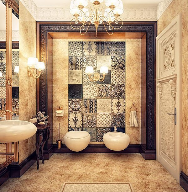 Arabic bathroom design ideas for Arabic interiors decoration