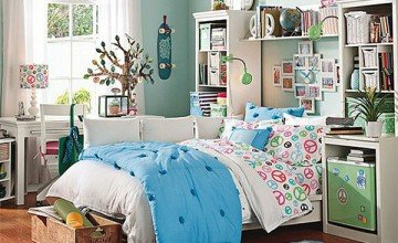 bedroom design for teenage girl