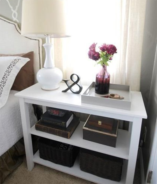 bedroom nightstand white furniture