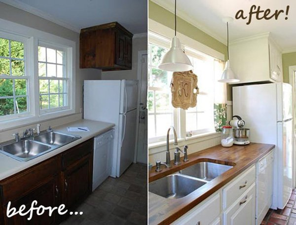 Easy ways of renovating the kitchen for Update my kitchen on a budget