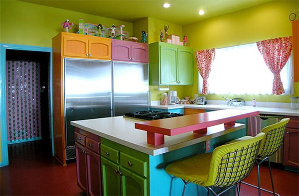 Furniture Selection To A Kitchen By Crazy Color Lovers