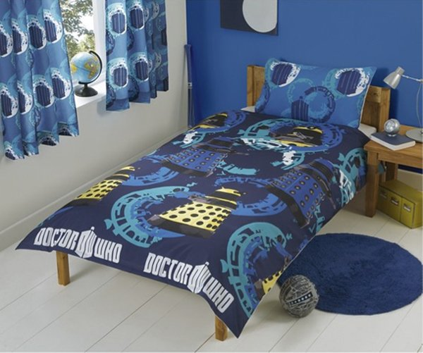 doctor who bedroom theme bedspread