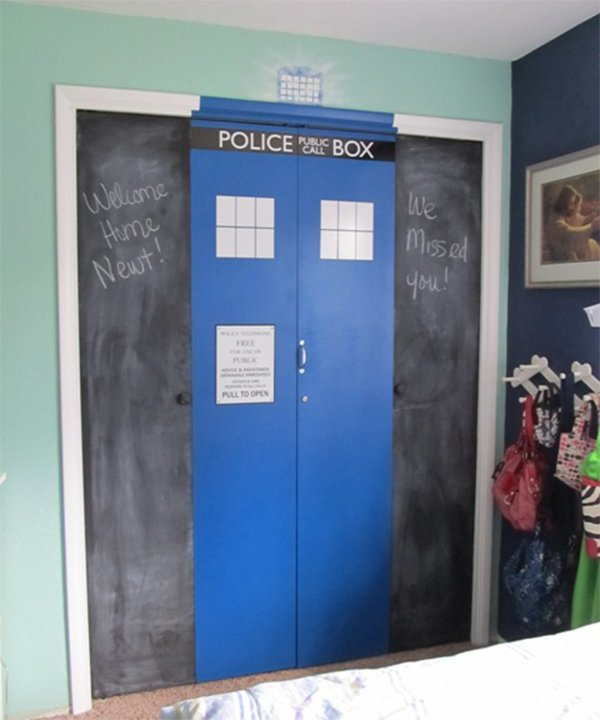doctor who bedroom theme