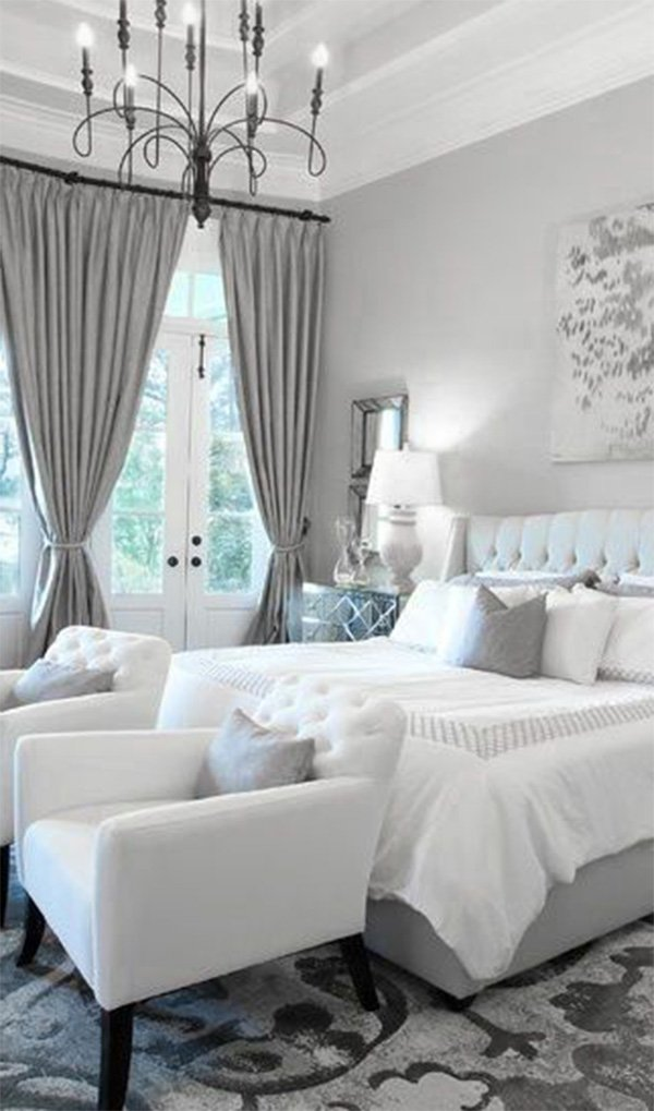 white and grey bedroom modern bedrooms black to white shading with a touch 984