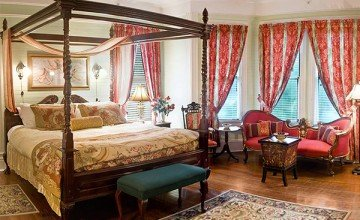 large victorian bedroom design