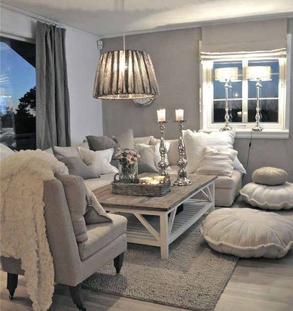 gray tones for living room home decoration ideas 22569