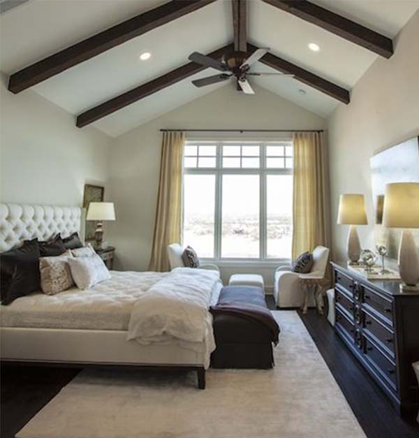 stunning master bedroom design