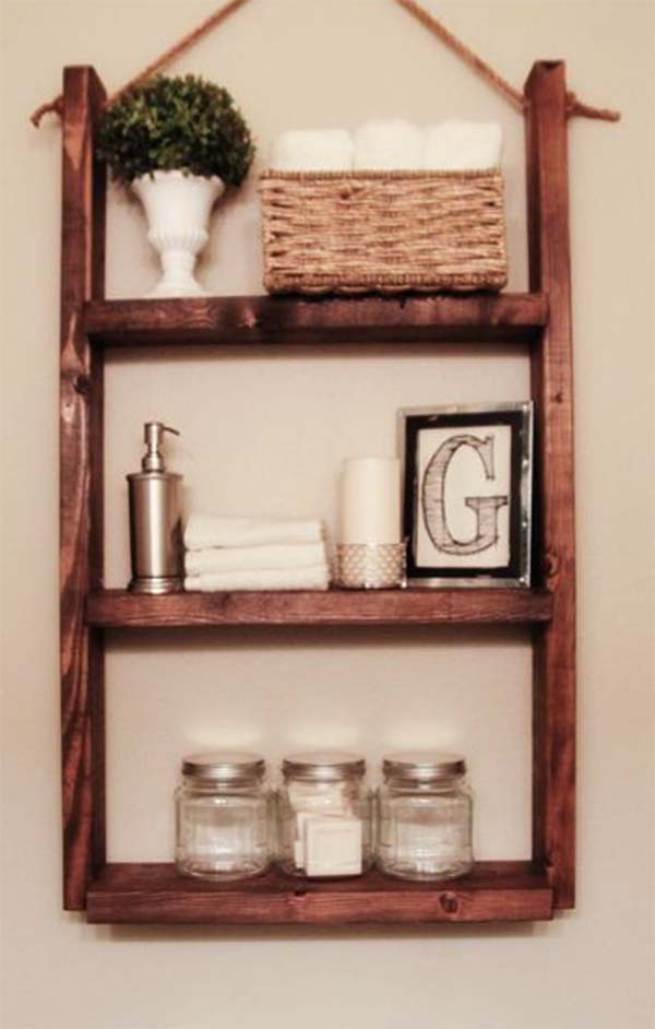 Elegant Small Wooden Shelves Bathroom Wood Shelf Projects Small Wooden Shelf