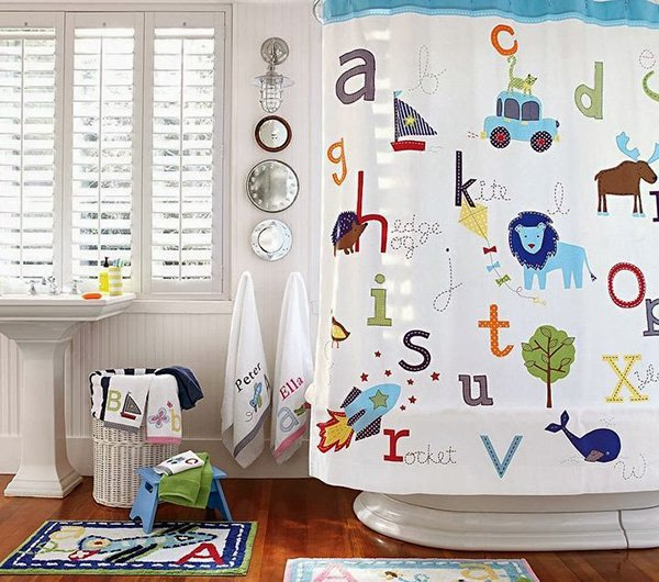 charming bathroom design for kids