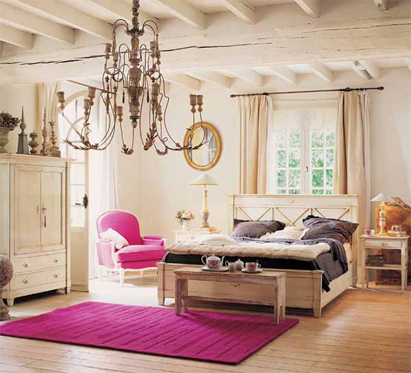 cosy and stylish bedroom
