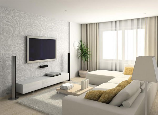 Make your living room look bigger living room small space for Decorating your small living room