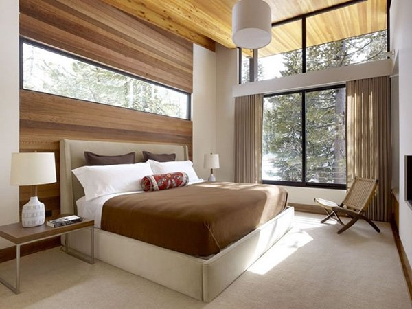 bedroom with natural lighting
