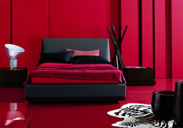 Red Bedroom Design And Decoration Ideas
