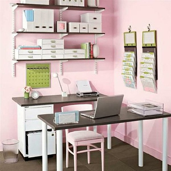 Home office design ideas for small spaces - Small space decorating blog decor ...