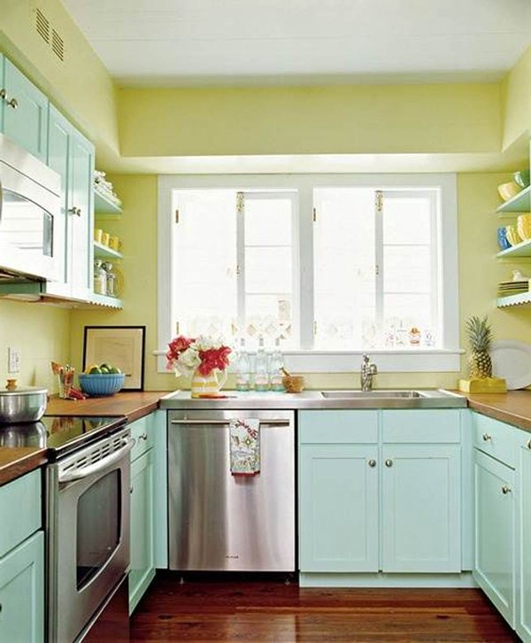 Green Kitchen Cabinets Images: Green Kitchen Designs