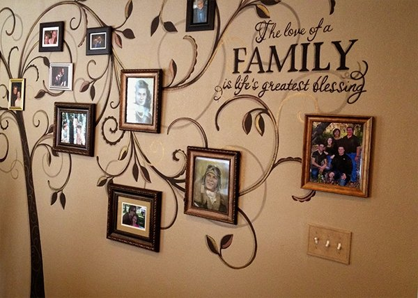 Wall Pictures Design marvelous wall design for home excellent house wall design custom for home Creative Family Wall Design