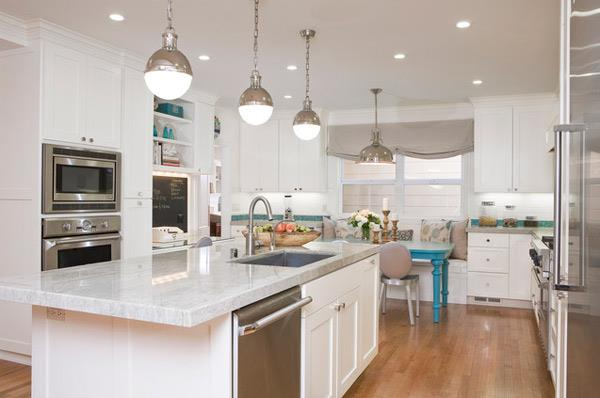 2016 white kitchen design 7 - All White Kitchen Designs