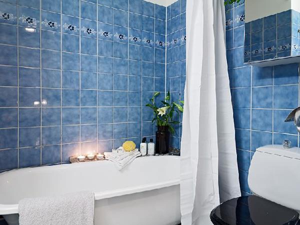 Blue and White Bathroom Decoration 3