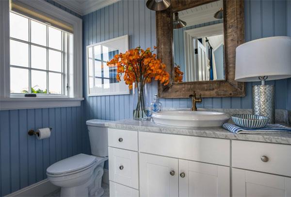 Gray Blue Color Combinations for Bathrooms